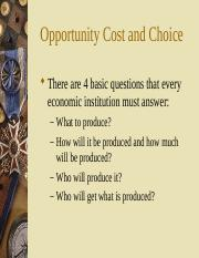 02 Opportunity Cost and Choice.ppt