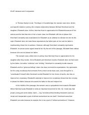 Literary Analysis Essays