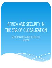 AFRICA AND SECURITY IN THE ERA OF GLOBALIZATION.pptx