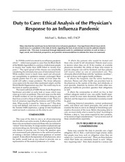 Lecture 8 - Duty to Care