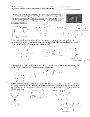 HW Review of Conics Applications