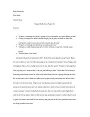 Chapel Reflection Paper- The Bible.docx