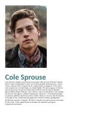 Cole Sprouse.docx
