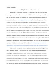Reflection essay 9