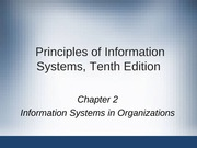 Principles of Information Systems chapter 02
