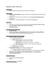 Physiology – Midterm I Study Guide.docx