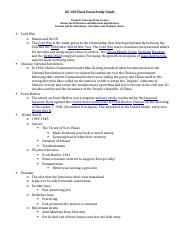 Study Guide #2