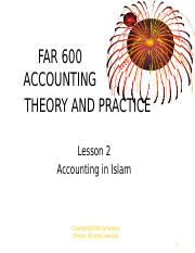 TOPIC 2 (JAN2010)-islamic accounting