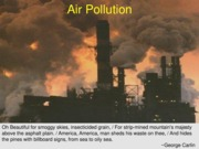 GEOL 120 Air Pollution 2013