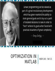 MATLAB - Optimization (1).pptx