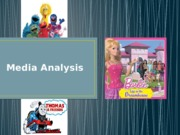 Media Analysis Powerpoint