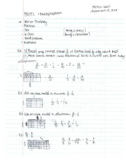 Math 107B fractions and properties of multiplication lecture notes