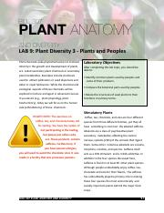 307 lab 9 2014 plants and peoples