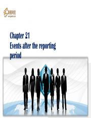 58 Events after the reporting period