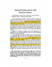 Chisholm Human Freedom and the Self-1964.pdf