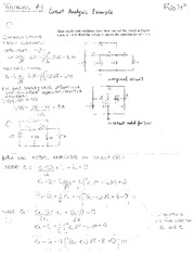 electronic Tutorial 4 Solutions