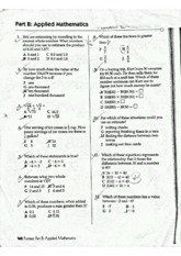 Applied Math Practice