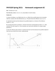 HW2 assignment 329 Spr 2013