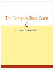 The Complete Blood Count.pptx