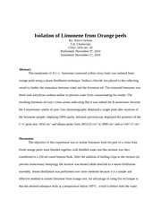 Ochem fall 2010 discussion limonene 10a