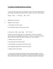 Le'Chatelier's Principle Introductory Problems.docx
