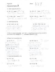 Polynomial Practice3 KEY