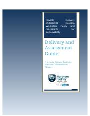 BSBSUS501A Delivery Assessment Guide V1.docx