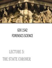 GEK 1542 - Lecture (Coroner)(Student's Version)