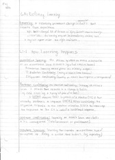 Notes on Learning