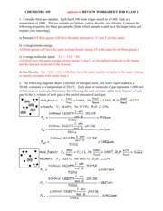 exam_1_worksheet_KEY - CHEMISTRY 105 Answers to REVIEW ...