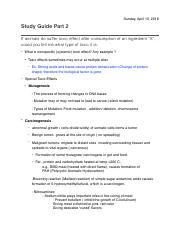 Study Guide 2