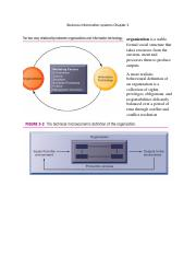 Business Information systems Chapter 3