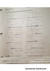 inequality notes and practice
