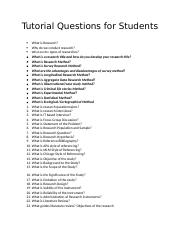 Tutorial Questions for Students.docx