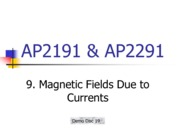 9_Magnetic Fields Due to Currents wo ans