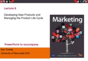Lecture 9 New Products