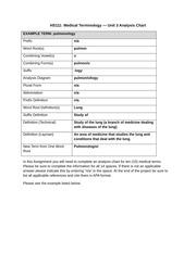 rebecasalgado unit 3 analysis chart hs111 hs111 medical. Black Bedroom Furniture Sets. Home Design Ideas