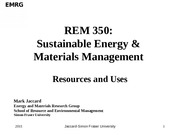 REM 350 Res and Uses Lec 2015-2