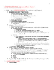 Contracts II - Conditions - Hall