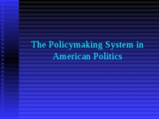 PSCI policymaking-system