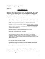 Handout and Rubric for Formal Essay Three.docx