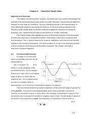 Chapter 08 Sinusoidal Steady State