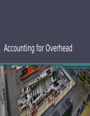 4_Accounting for Overhead.pptx
