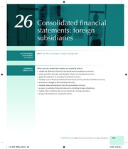 Chapter 26 ConsolidationForeignSubsidiaries