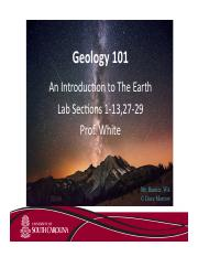 Geo 101 Introduction