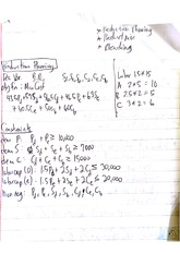 Operations Management Class Notes 7