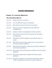 mgmt Chapter 13 Lecture Notes updated (1).rtf