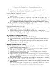 Population-Ch. 5 Notes