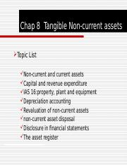 Chap 8 Tangible Non-current assets.ppt