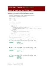 COMP248_Tutorial_5_Solution